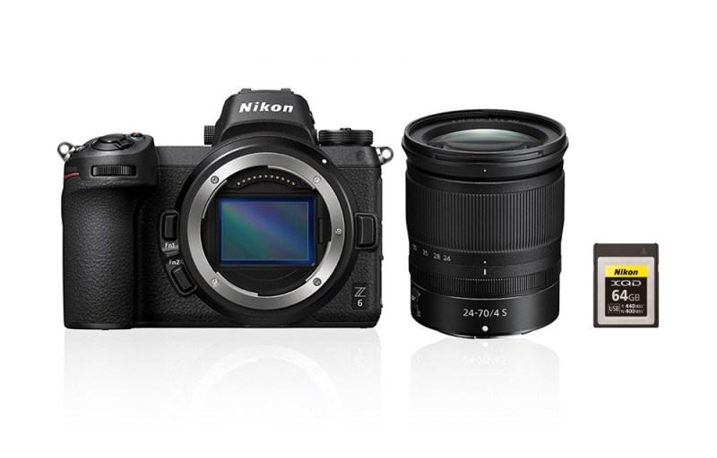 kit z 6 24 70 z nikkor zoom lens 64gb xqd original9407