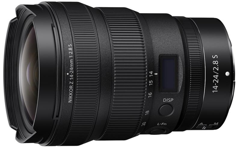 Nikkor Z 14 24mm f2.8 S lens min