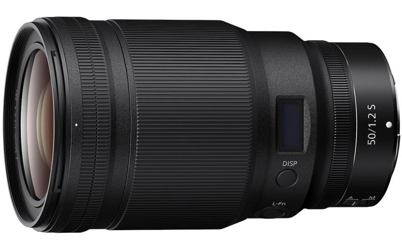 Nikkor Z 50mm f1.2 S lens min