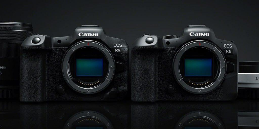 Canon R5 and R6