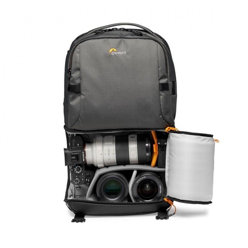 camera backpack lowepro fastpack bp 250 aw iii lp37332 pww mirrorless stuffed rgb