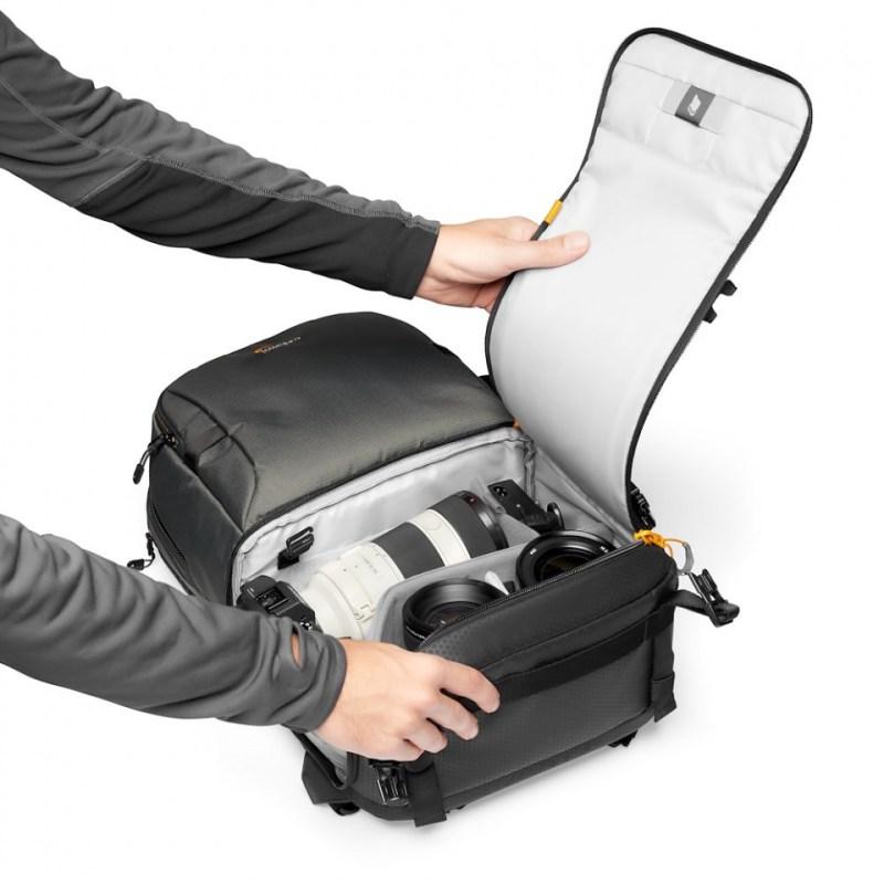 camera backpack lowepro fastpack bp 250 aw iii lp37332 pww quickdoor stage2 rgb