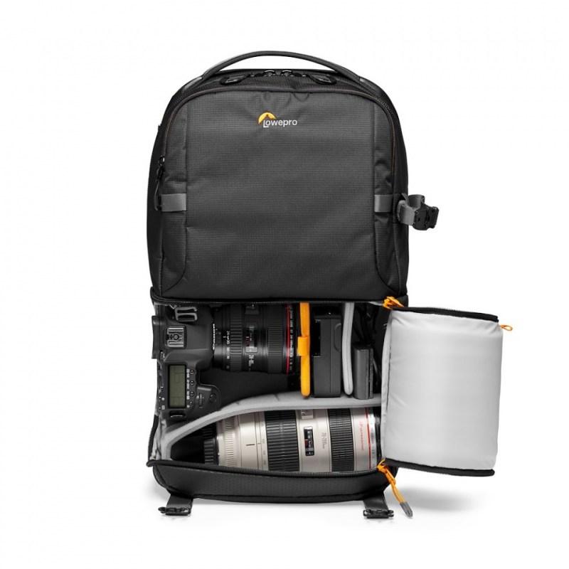 camera backpack lowepro fastpack bp 250 aw iii lp37333 pww dslr stuffed rgb