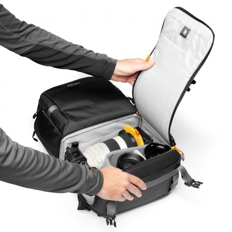 camera backpack lowepro fastpack bp 250 aw iii lp37333 pww quickdoor stage2 rgb