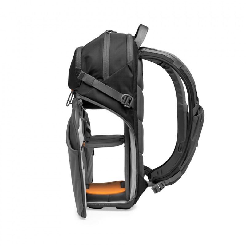 camera backpack lowepro photo active bp 200 lp37260 pww quickshelf open