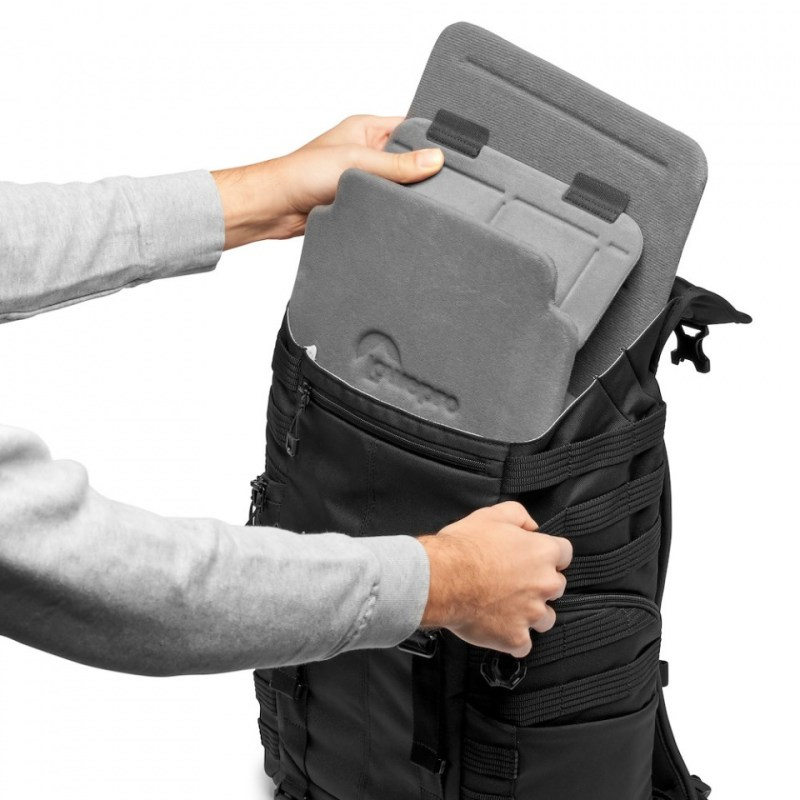 camera backpack lowepro protactic bp 300 aw ii lp37265 pww quickshelf remove