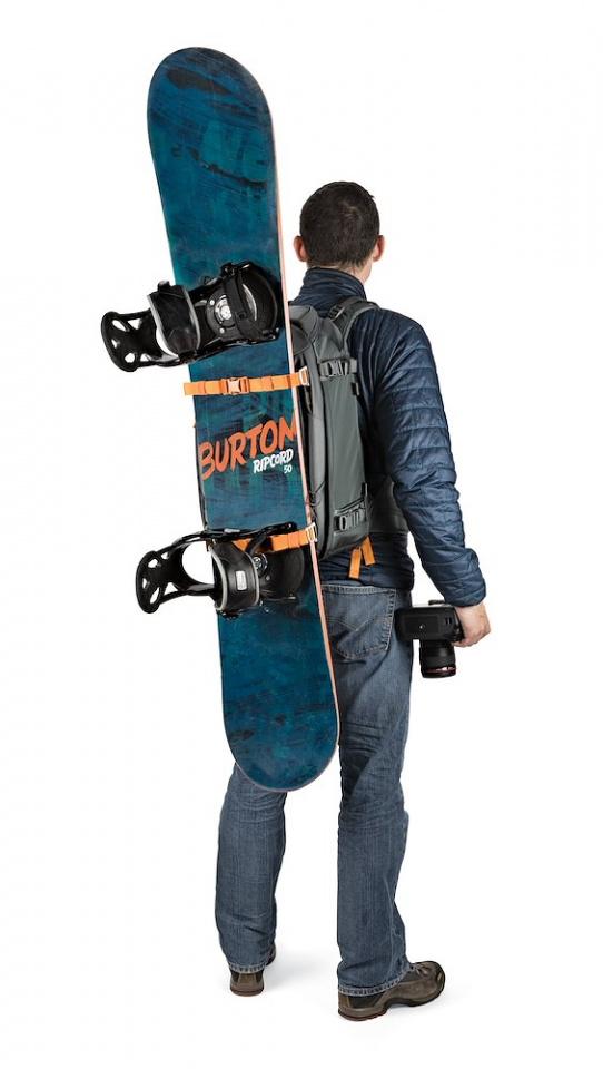 camera backpack whistler bp 350 aw ii lp37226 snowboard onbody