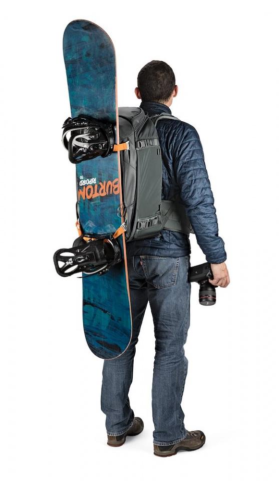 camera backpack whistler bp 450 aw ii lp37227 snowboard onbody