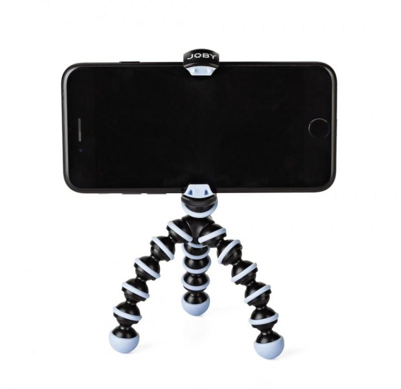 gorillapod mobile mini blue front