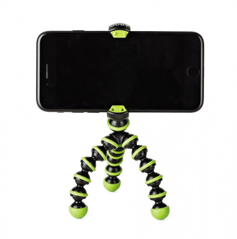 gorillapod mobile mini green front