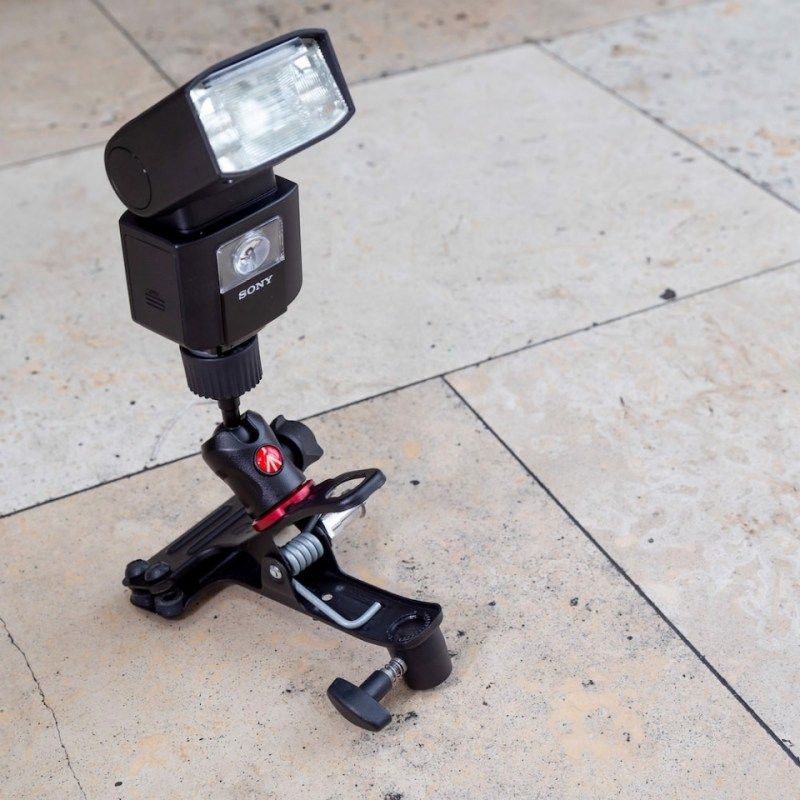lighting clamps and arms manfrotto cold shoe spring clamp 175f 2 in action 08