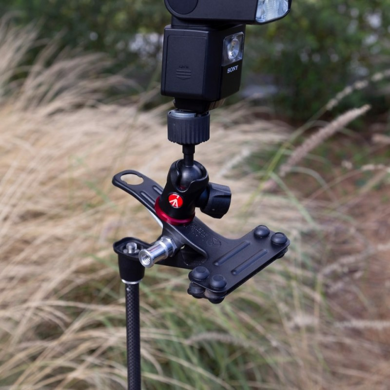 lighting clamps and arms manfrotto cold shoe spring clamp 175f 2 in action 15