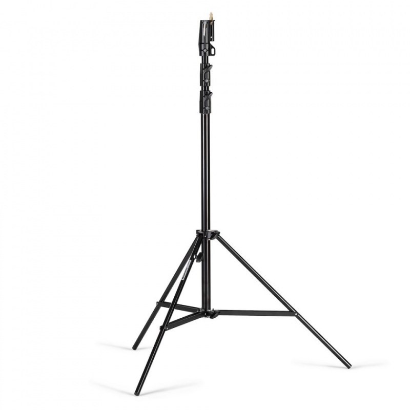 manfrotto heavy duty stand air cushioned black steel 126bsuac
