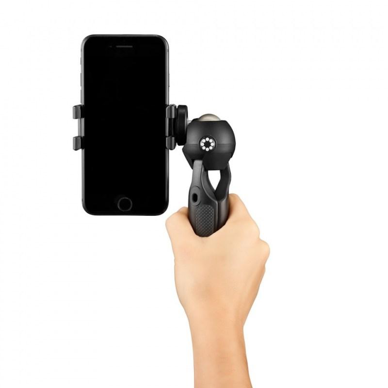 phone tripod joby handypod mobile jb01560 bww with hand shooting forward 2