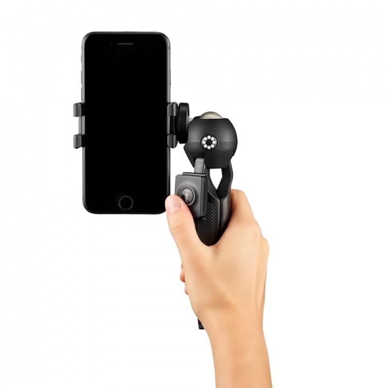 phone tripod joby handypod mobile jb01564 bww with hand shooting forward 2