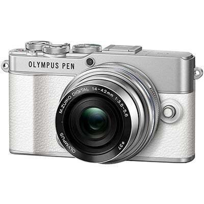 Olympus PEN E P7 Digital Camera with 14 42mm Lens White 2