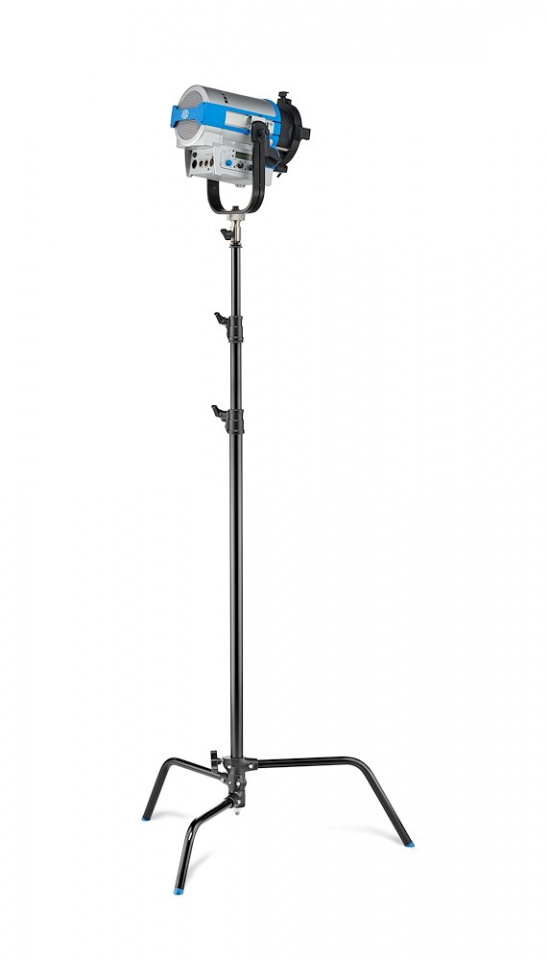 c stands c stand 33 with sliding leg in black finish version a2033lcb w light
