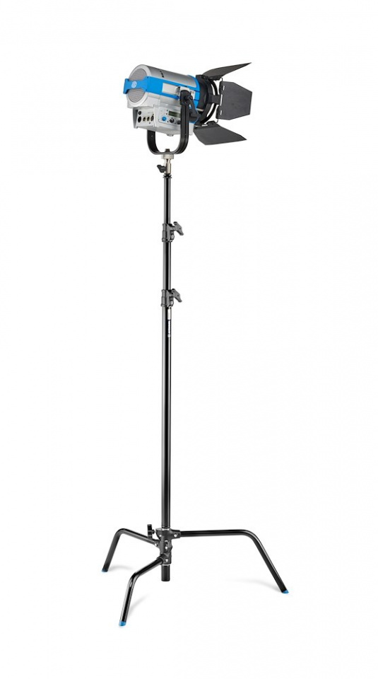 c stands c stand kit 30 with detacheable base black finish a2030dcb w light 1