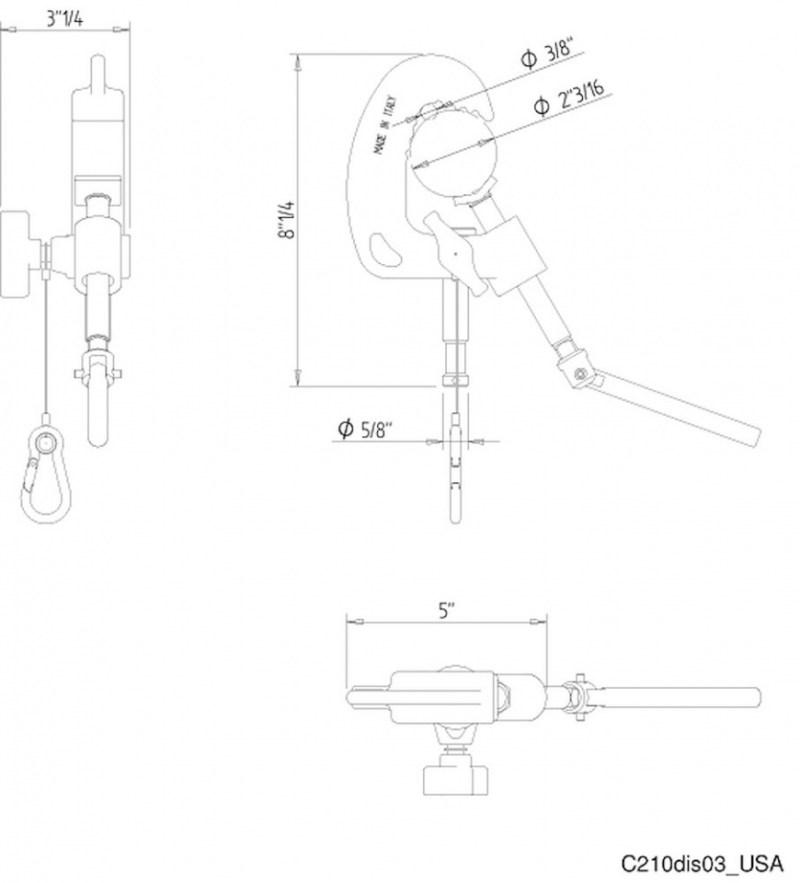 disegno c210 usa