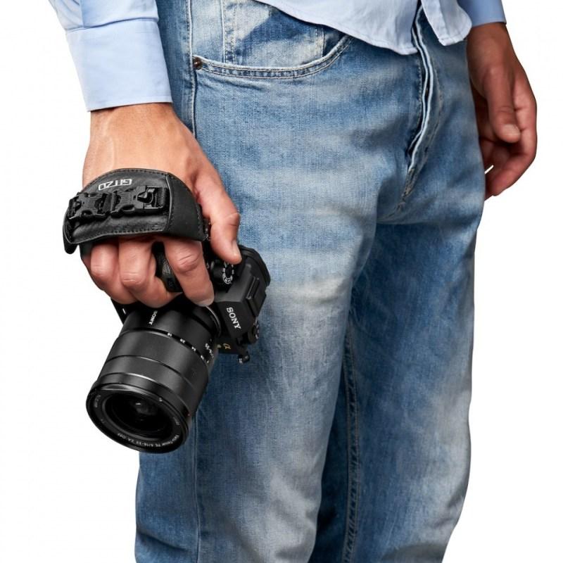 gitzo century camera straps gcb100hs worn