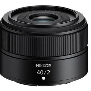 Nikon Nikkor Z 40mm f2 lens for Nikon Z mount 1