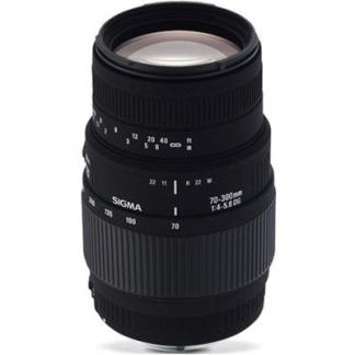 Sigma 70-300mm f4-5.6 Macro DG Lens