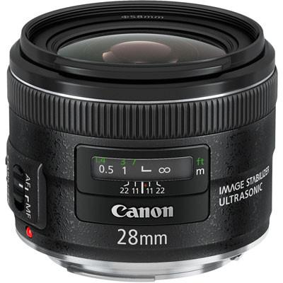 Canon EF 28mm f2.8 IS USM Lens