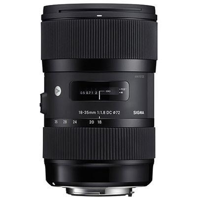 Sigma 18-35mm f1.8 DC HSM Lens