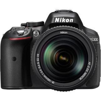 Nikon D5300 Digital SLR Camera + Nikon 18-140mm VR Lens