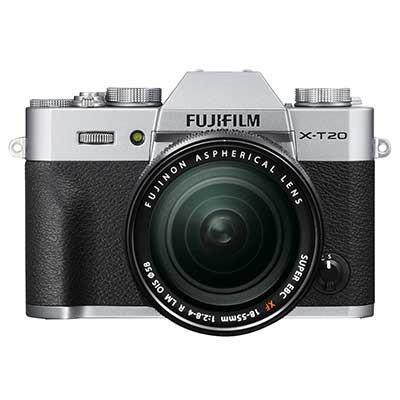 Fujifilm X-T20 with XF 18-55mm Lens