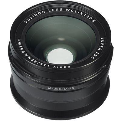 Fujifilm WCL-X100 II Wide Angle Lens - Black