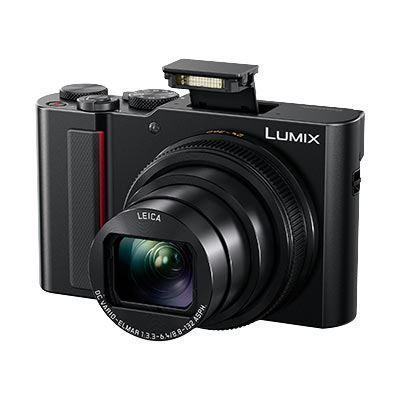 Panasonic LUMIX DMC-TZ200 Digital Camera - Black