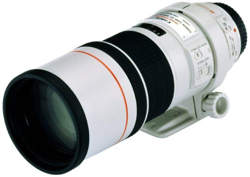 Canon EF 300mm f/4.0L Image Stabilised USM
