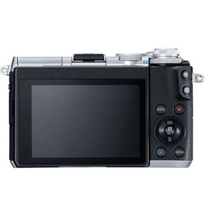 Canon EOS M6 Mirrorless Camera in Black + 15-45mm Lens