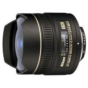 Nikon 10.5mm AF f/2.8G ED DX Fisheye