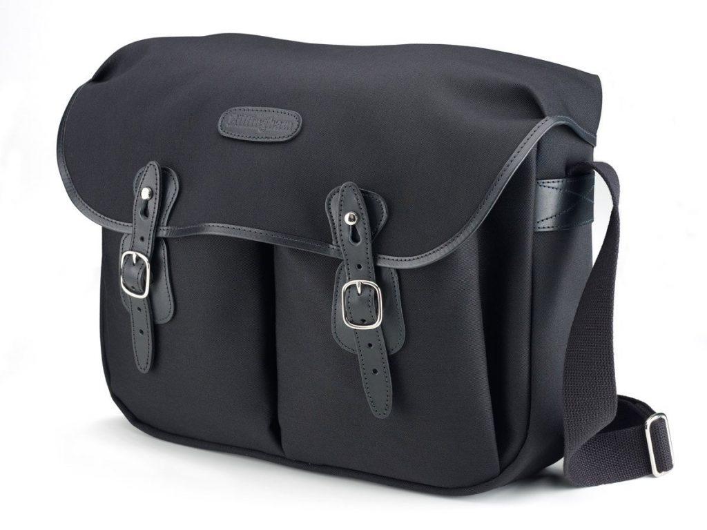 Billingham Hadley Large Shoulder Bag Campkins Cameras One Black Canvas Tan Leather