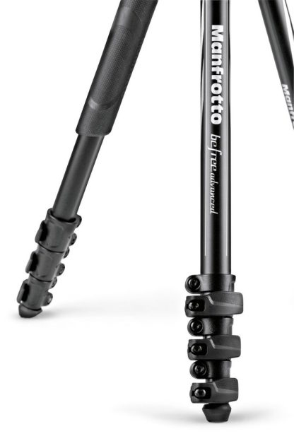 Befree Advanced Aluminum Travel Tripod lever, ball head