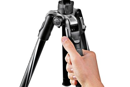 Befree Advanced Aluminum Travel Tripod twist, ball head