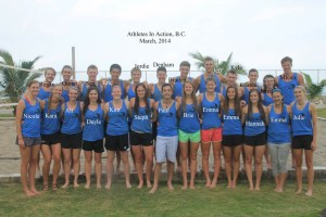 Athletes in Action team 2014