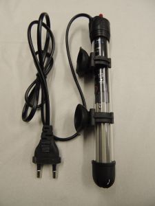 Heizstab, Aquarienheizung, Stabheizer + Saugnäpfe 50 Watt