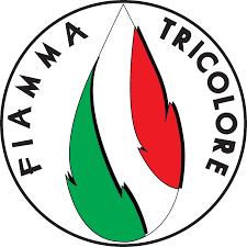 Logo fiamma tricolore