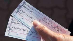 biglietti ferroviari