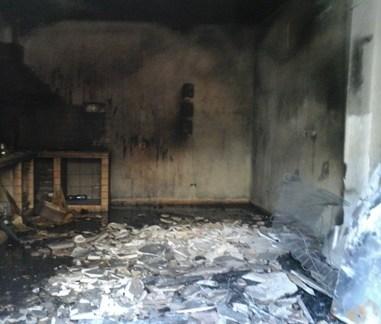 Campobello, In fiamme abitazione estiva a Tre Fontane