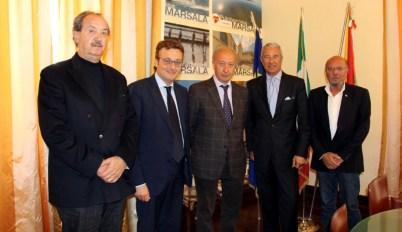 da sin. Vito Ballatore, Felice Errante, Alberto Di Girolamo, Vito Damiano e Gianvito Mauro (1)