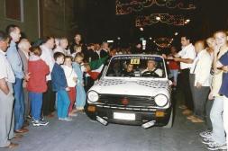 Rausi navigato da Nino Margiotta - 1998