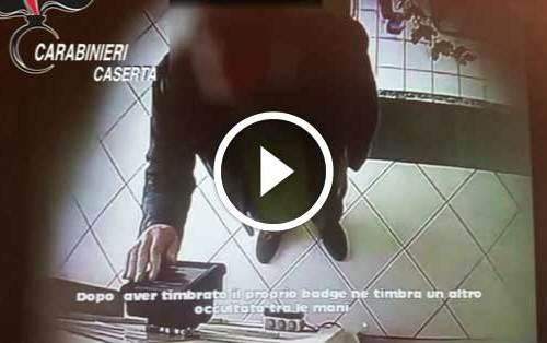 """Caserta: sospesi dal lavoro 7 impiegati comunali """"furbetti del cartellino"""" [VIDEO]"""