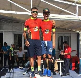 [CICLISMO] Baldassare Barbera e Giorgio Castelli atleti dell'A.S.D. Fiamma si aggiudicano la crono-squadre categoria a coppia denominata Timpone Nero a Triscina (TP).