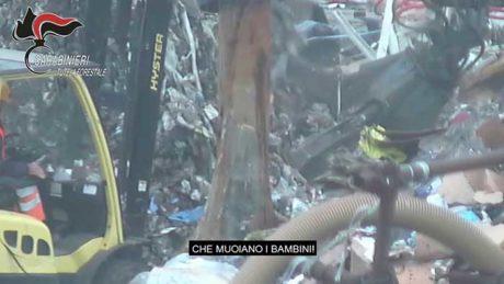 [VIDEO] Traffico di rifiuti pericolosi:Truffa alla Regione Toscana per oltre 4 milioni di euro