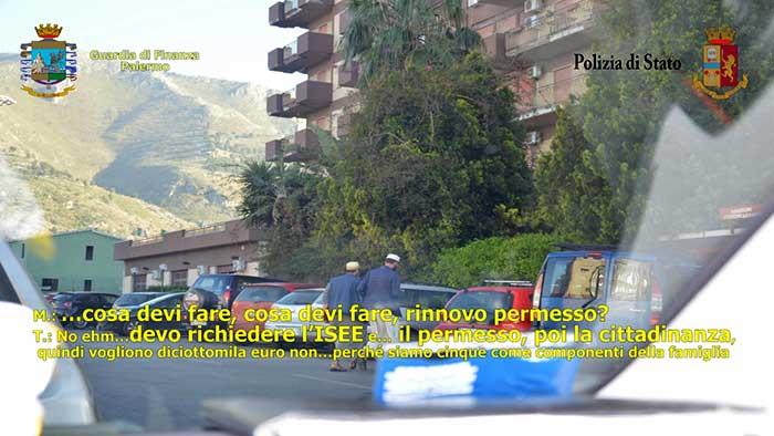 Ufficio Collocamento A Palermo : Immigrazione] 9 arresti a palermo di polizia e gdf disarticolata