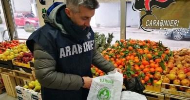 """Abruzzo e Lazio: Carabinieri Forestali sequestrano tonnellate di sacchetti per la spesa in polietilene: riportavano falsamente la dicitura di """"Sacco biodegradabile e compostabile"""""""